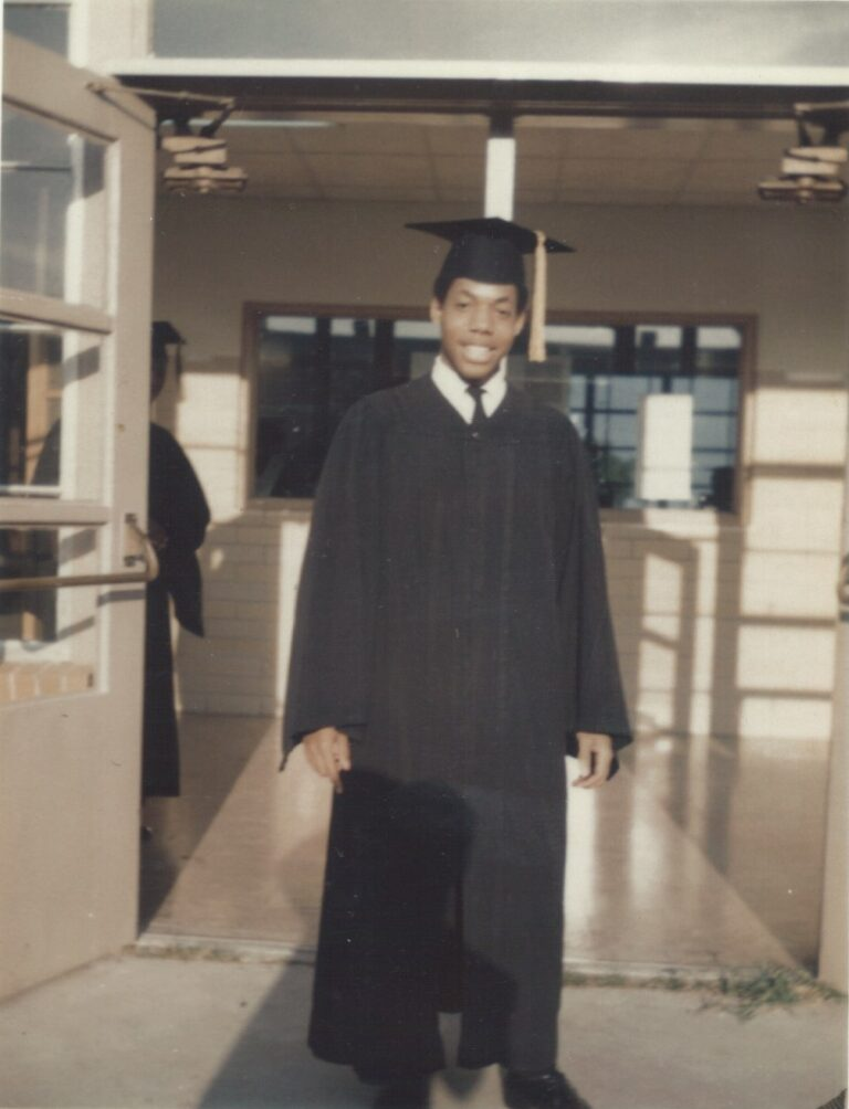 Louis-1969 cap and gown